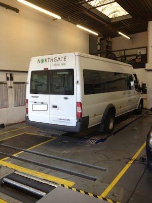 Minibus Class 5a Garage Banbury